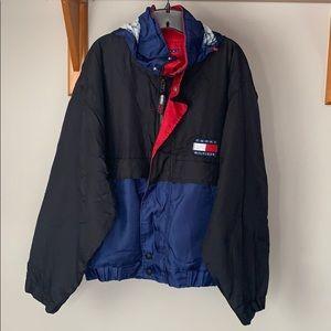 Vintage 90s Tommy Hilfiger Outdoors Jacket Fleece